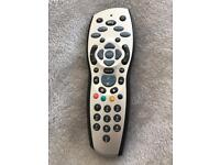 Sky + HD set top box router and remote