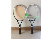 Babolat Pure Drive Lite - Wimbledon Edition - 2 rackets, Grip Size 2 - almost new with covers