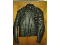 hein gerick black lether jacket