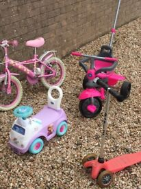 4 kids outdoor toys £20 for all 4 must collect