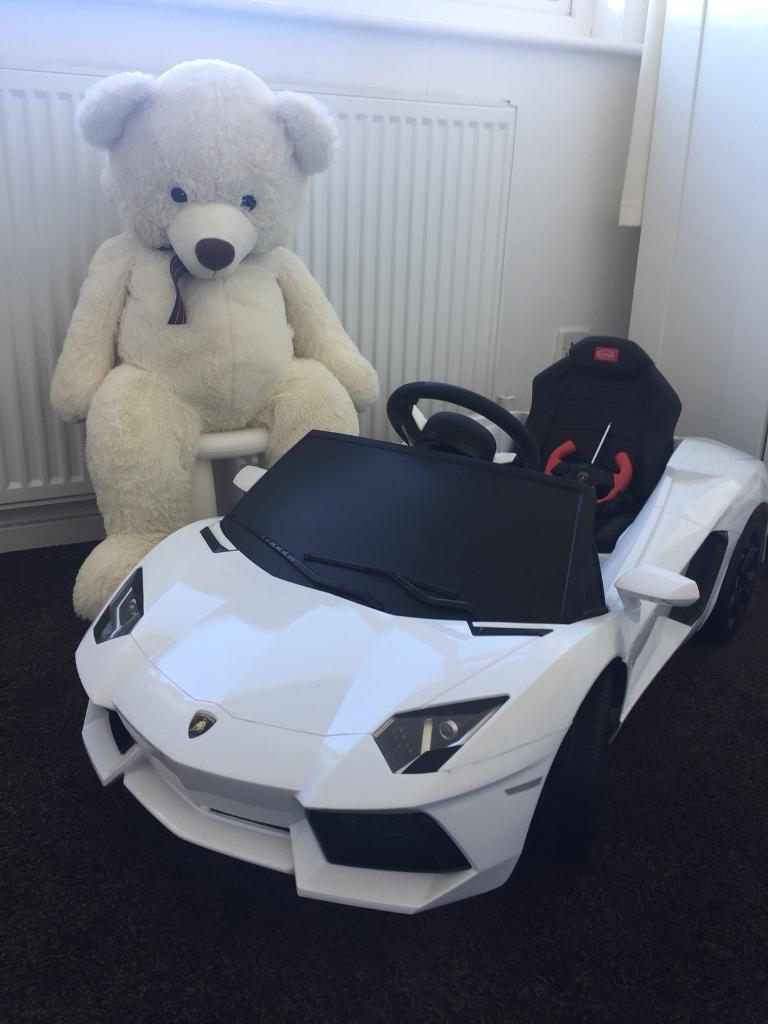 kids lamborghini aventador - electric car | in talke, staffordshire