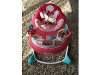 Minnie Mouse girls baby walker/ activity table