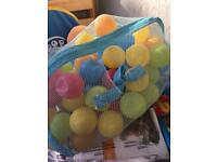 Play tent with balls £10