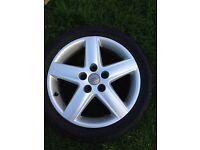 "Audi Alloy Wheel 17"""