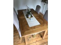 John Lewis Oak Dining Table