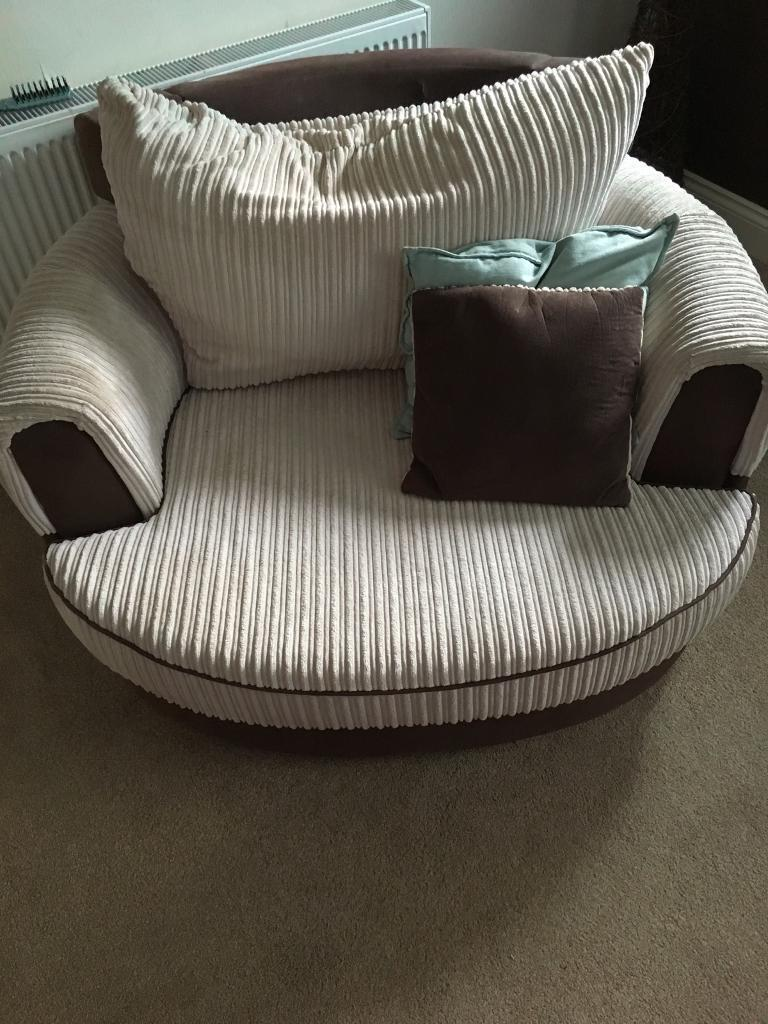 3 seater sofa bed cuddle sofa and chair in darlington. Black Bedroom Furniture Sets. Home Design Ideas