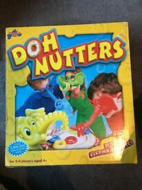 Doh Nutters game. Great condition. Boxed (box has a couple of minor marks, otherwise great cond)