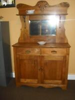 "Antique Sideboard"" USED"""