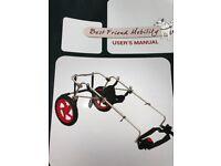 XL Dog wheelchair rear support