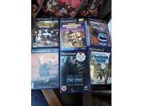 Ps2 Play station games.
