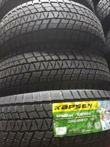 4 winter tires icemax new   265/65r17