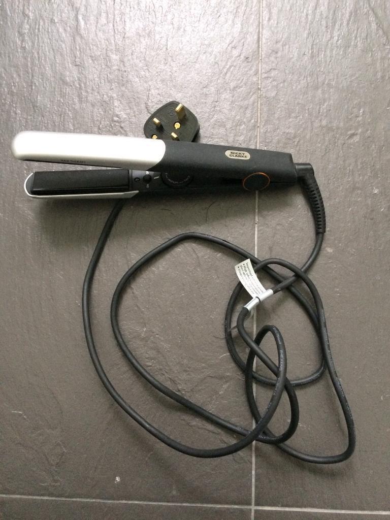 Hair straightener and blow dryer
