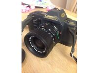 Canon T70 35mm Camera with 35-70mm Lens