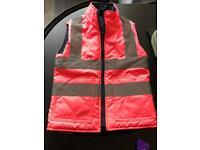 Girls hi-vis jacket