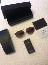 Prada aviator unisex sunglasses