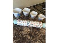Cath kidson Collection Highgate rose 8 different items
