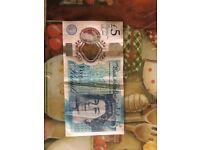 £5 AK47 New Note
