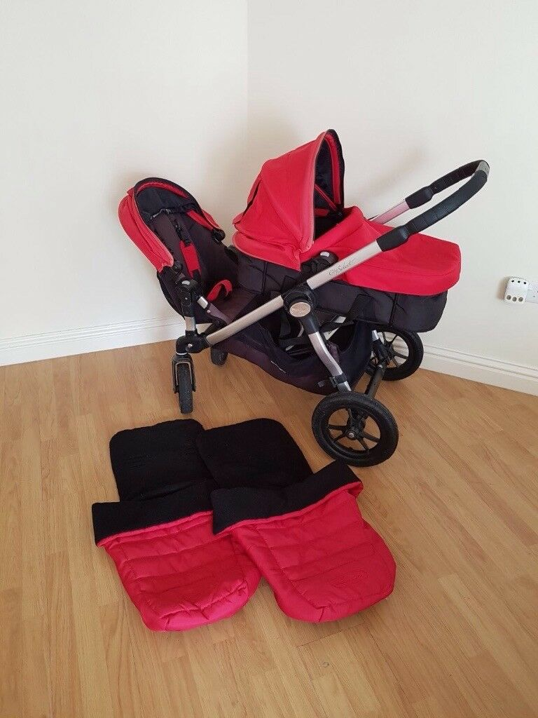Baby Jogger City Select Twin Pram