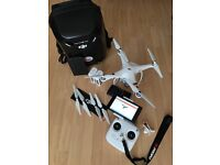 Phantom 3 Standard drone complete with Nexus 7 tablet and 2 extra batteries and case