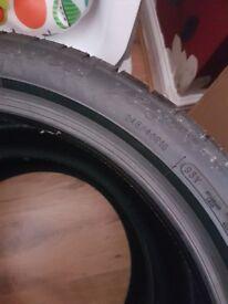Brand new avon tyres 245/40R18 93Y ZZ5