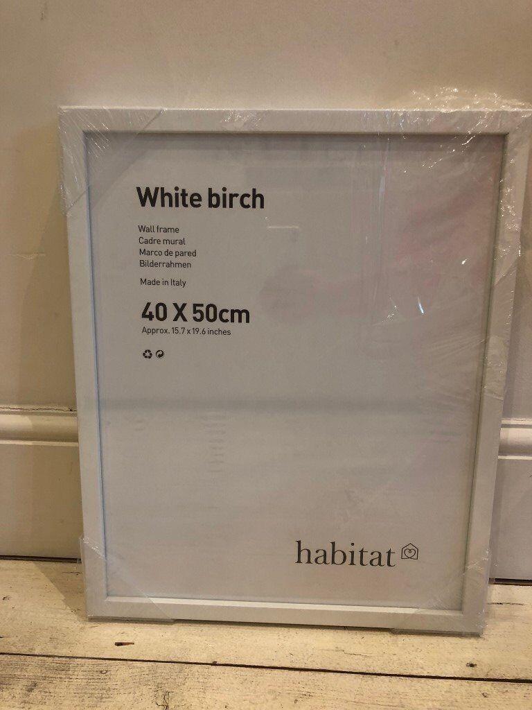 Habitat White Birch Frame In Fulham London Gumtree
