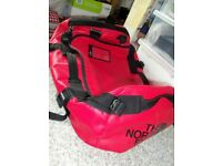 The North Face base camp bag red and black