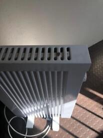 4 x 500w LHZ combination electric radiators