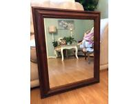Lovely pine mirror