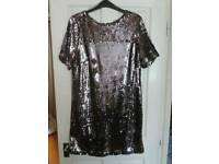 LADIES FULL SEQUIN DRESS