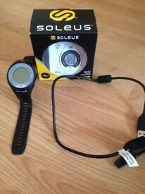 Soleus heart rate monitor pulse sports watch