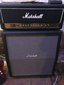 DSL 100 watt two channel valve amp and marshal 1960 4x12 cab