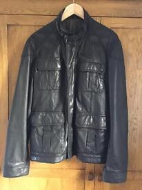 Men's Ted Baker Leather Jacket
