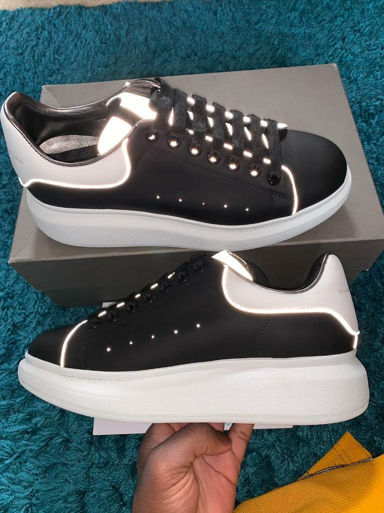 382c8a94 Alexander McQueen black reflective trainers | in Woodford, London ...