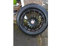 16inch alloys new tyres 195/55/16