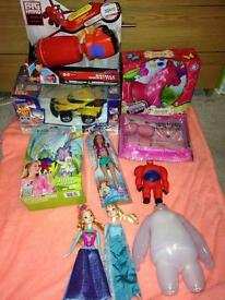 New and used toys