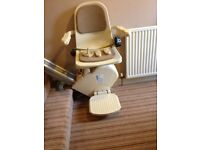 Brooks Stairlift, Aberdeen, currently in 13 tread stair, little use, can be seen working.