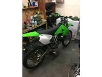 Kx 250 2005 motocross bike