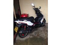 Lexmoto FMR 125 65 Plate BARGAIN (scooter/moped) want DT, WR, KTM, Aprilia sx mx rx