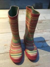 Joules Girls Wellies Boots Size 11