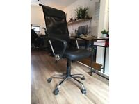 Swivel Office Chair - Black - Quick Sale Price