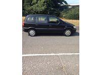 Vauxhall zafira 7seater in black bargain