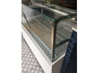 NEW refrigerated serve over counter