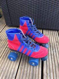 Unused Retro Style Rollerskates