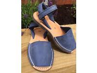 Kids Menorcan Sandals Uk size 10.5