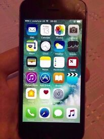 iPhone 5s 16gb Black & Grey Vodaphone Sim locked