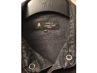 Men's Label Lab grey/black shirt size medium