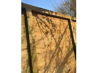 Close Boarded Fence Panels & Posts