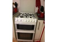White cannon gas cooker. Single oven compartment. Good working order
