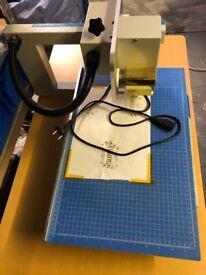 Digital hot foil printer