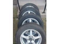 Vw,Audi,Skoda,Seat,Mercedes 15'' alloys 195x65x15 Winter